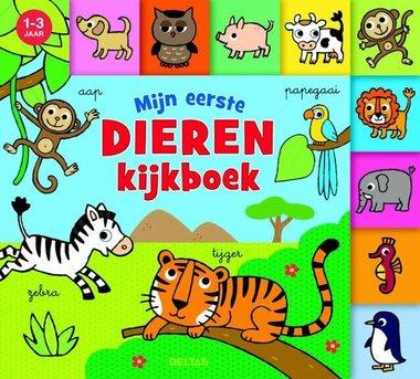 Mijn eerste dieren kijkboek (1-3 j.) / Deltas