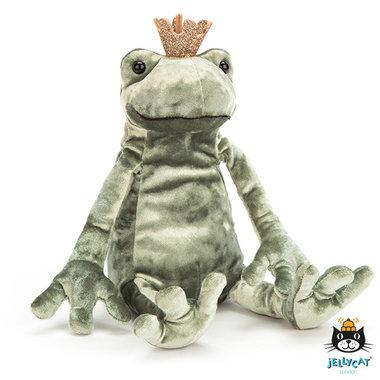 Kikker Frog Prince Kiss / JellyCat