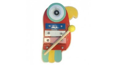 Houten Xylofoon Papagaai / Simply for Kids
