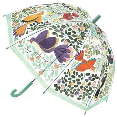 Kinderparaplu Vogels en bloemen / Djeco