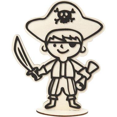 Figuur Piraat om te decoreren / Hobby