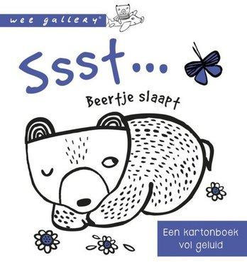 Ssst. Beertje slaapt (karton). 1+ / Wee Gallery