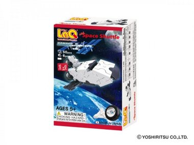 Hamacron Constructor Mini Space Shuttle / LaQ