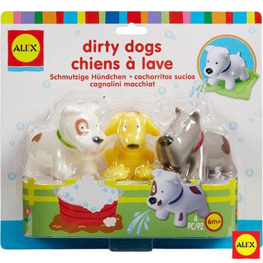 Badspeelgoed Vieze honden in bad / Alex