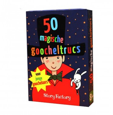 50 magische goocheltrucs / Story Factory