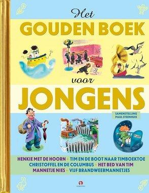 Gouden voorleesboek: Het Gouden boek voor jongens. 3+ / Rubinstein