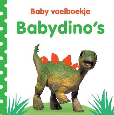 Baby voelboekje: babydino's. 0+ / Veltman