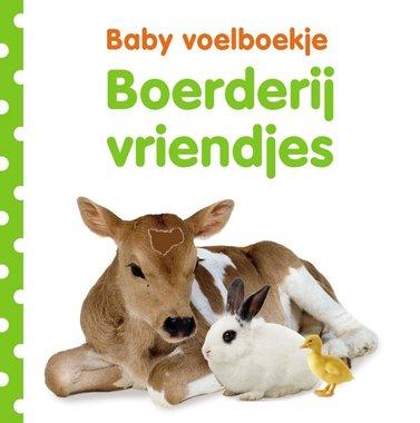 Baby voelboekje: Boerderijvriendjes. 0+ / Veltman