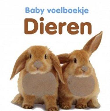 Baby voelboekje: Dieren. 0+ / Veltman