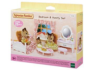 Slaapkamer en kaptafel set (meisjes) / Sylvanian Families