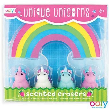 Unique Unicorns Scented Erasers / Ooly