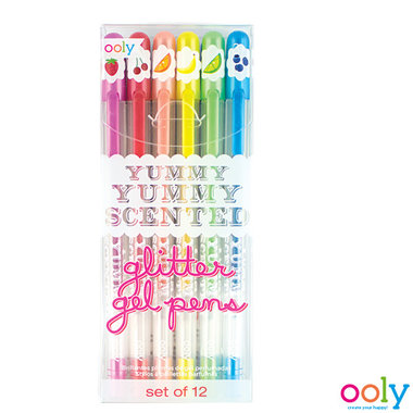 Yummy Scented Glitter geur gelpennen / Ooly