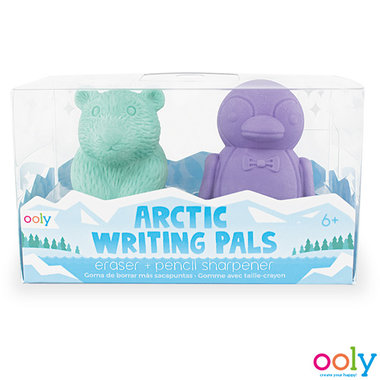 Arctic Writing Pals - Eraser & Sharpener / Ooly
