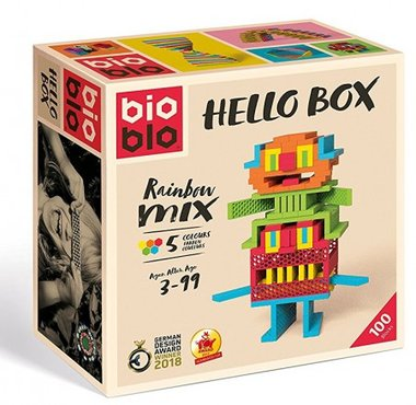 Hello Box Rainbow Mix (100) / Bioblo