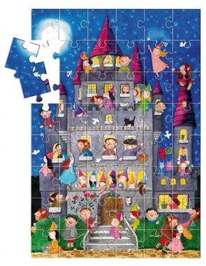 Het Feeënkasteel - Grote puzzel (48 XXL) / Ludattica