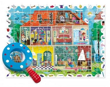 Detective Puzzel - Mijn Huis (108 st) / Ludattica
