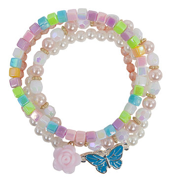 Armband Pearly Butterfly / Great Pretenders