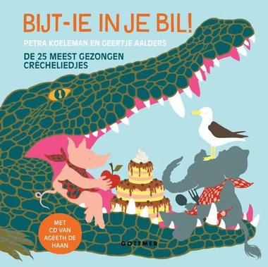 Bijt-ie in je bil (boek+ cd). 2+ / Gottmer