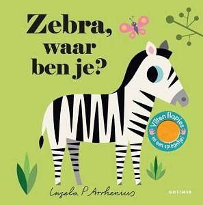 Zebra, waar ben je (karton). 2+ / Gottmer