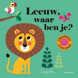Leeuw, waar ben je (karton). 2+ / Gottmer