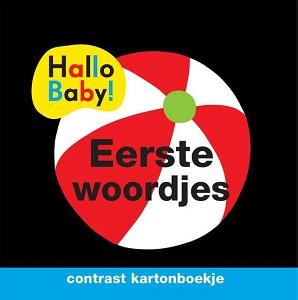 Hallo Baby: Eerste woordjes (contrast kartonboekje). 0+ / Veltman