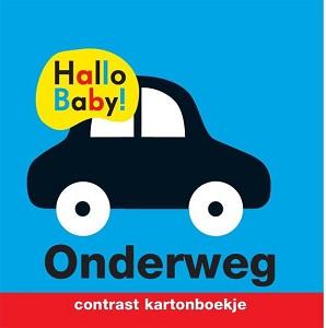 Hallo Baby: Onderweg (contrast kartonboekje). 0+ / Veltman