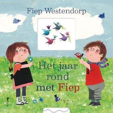 Het jaar rond met Fiep (kartonboek). 2+ / Fiep Westendorp