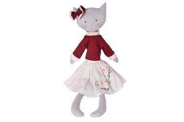 Stoffen pop Bellamy the Cat 50cm / Bonikka