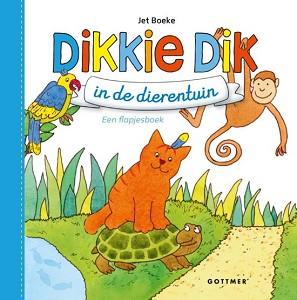Dikkie Dik in de dierentuin (flapjesboek/karton). 1+