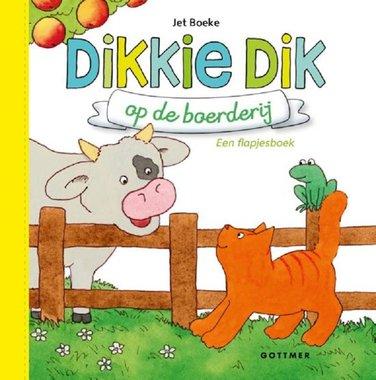 Dikkie Dik op de boerderij (flapjesboek karton). 1+