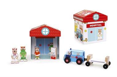 Speel Box Ziekenhuis 2 in 1 / Scratch
