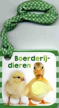 Buggyboekje: Boerderijdieren (kartonboek). 1+ / Veltman