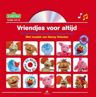 Sesamstraat: Vriendjes voor altijd jubileumeditie (boek + cd). 4+ / Rubinstein