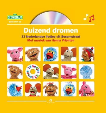 Sesamstraat: Duizend dromen (boek + cd). 3+ / Rubinstein