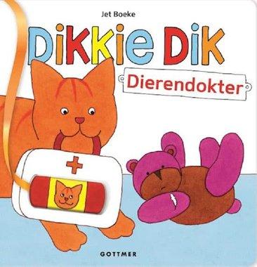 Dikkie Dik dierendokter (kartonboek). 3+