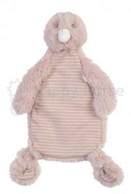 Knuffeldoekje Eendje Duck Dewy Tuttle roze / Happy Horse