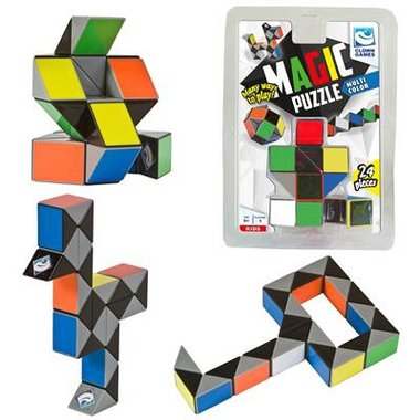 Magic Puzzle 3D Multi Colour (24) / Clown Games