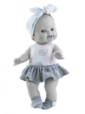 Poppenkledingset rokpakje egeltjes (meisje) / Paola Reina