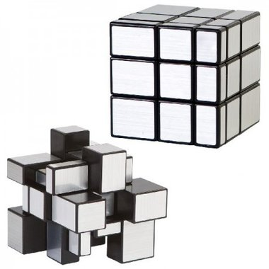 Magic Cube Puzzle Silver / Clown Games