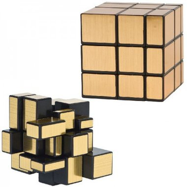 Magic Cube Puzzle Gold / Clown Games