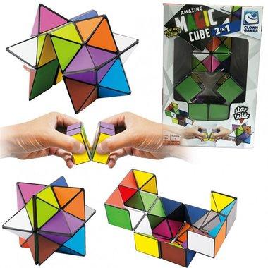 Magic Cube Puzzle 2 in 1 / Clown Games