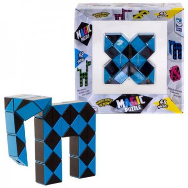 Magic Puzzle 3D Blauw (48) / Clown Games