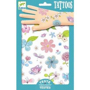 Tattoos Veldbloemen / Djeco