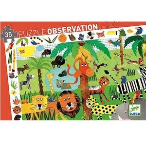 Observatie puzzel sprookjes (54st.) / Djeco