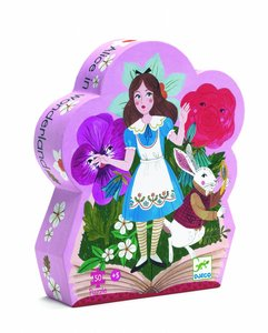 Puzzel Alice in Wonderland (50 st.) / Djeco
