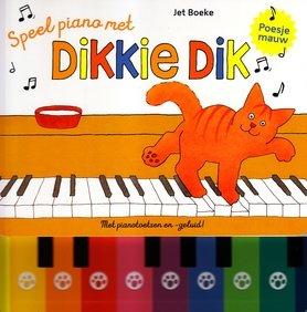 Speel piano met Dikkie Dik (toetsen + geluid) 2+