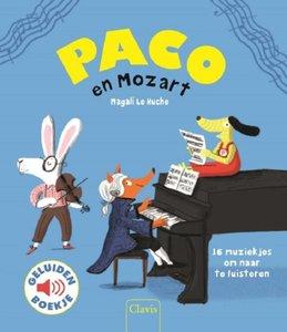 Paco en Mozart (geluidenboek). 3+