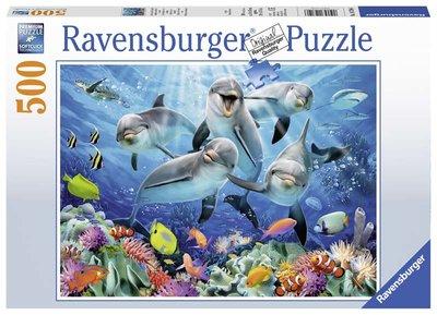 Dolfijnen puzzel (500 st) / Ravensburger