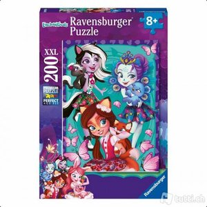Puzzel Enchanitmals beste vrienden voor altijd (200 st) / Ravensburger