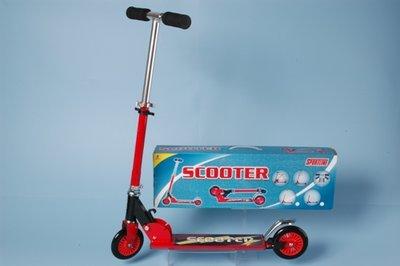 Sportline scooter rood